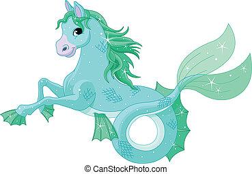 mythologisch, see pferd