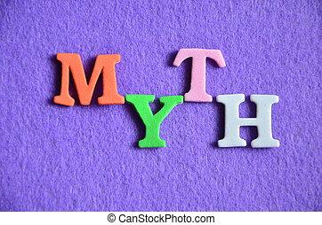 mythos, wort
