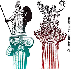 mytologic, estatuas