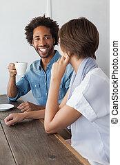 náhodný, průvodce, obout si káva, dohromady