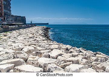 nápoles, costa mar