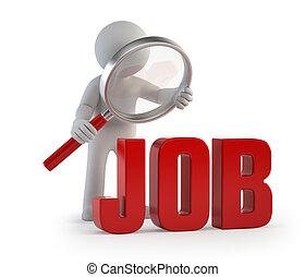 národ, lupa, -, zaměstnání, malý, 3