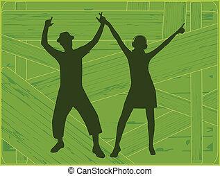 národ, tančení
