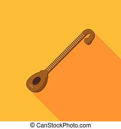 nástroj, veena, byt