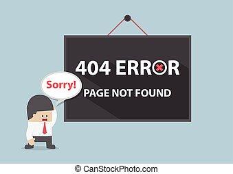 não, encontrado, 404, erro, página