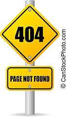 não, encontrado, 404, página, erro