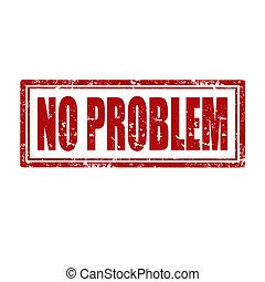 não, problem-stamp