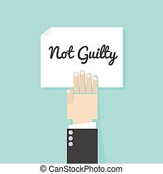 não, razoavelmente, lei, culpado, conceptuals