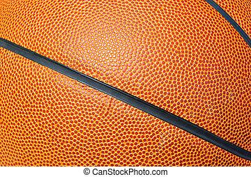 nära, basketboll, uppe