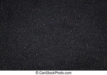 närbild, svart, struktur, bakgrund, smutsa