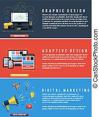 nät ikon, media, social, seo, design