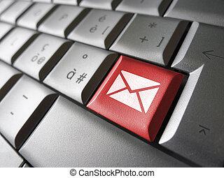nät, kontakta, email, nyckel, oss