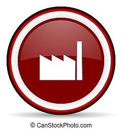 Nät, nymodig, fabrik,  element,  design, glatt, ikon, runda