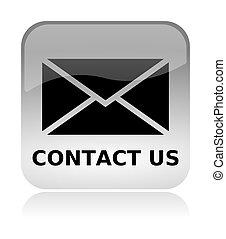 nät, oss, kontakta, gräns flat, email, ikon