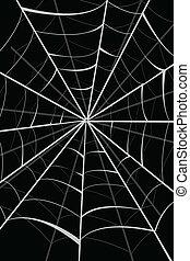 nät, spindel