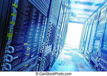 nät, storage., begrepp