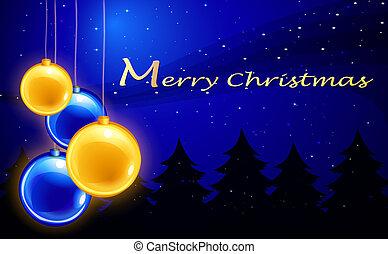 négy, herék, vidám, sablon, karácsony