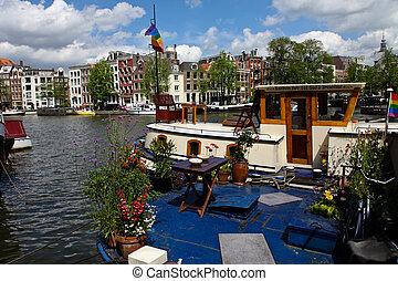 németalföld, amszterdam, hollandia, főváros