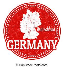 németország, bélyeg