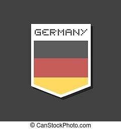 németország, jelkép, tervezés
