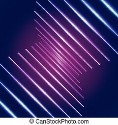 néon, clair, lignes, fond