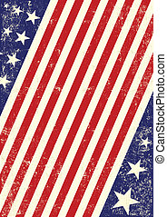 nós, bandeira americana, fundo