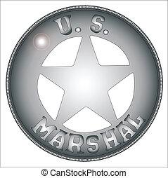 nós, marshal, emblema