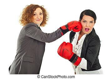 nöje, ha, affärsverksamhet kvinnor