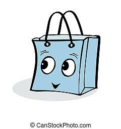 nöje, sjal, försäljning, gåva, kolli