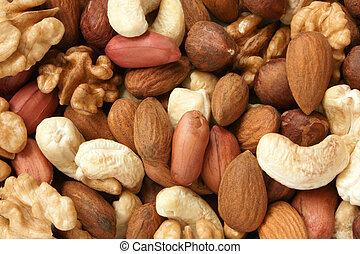 nötter, blandad