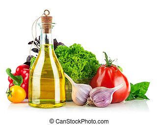növényi, friss, olívaolaj