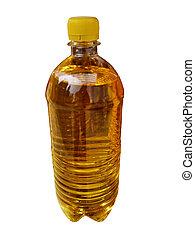 növényi, olaj, palack