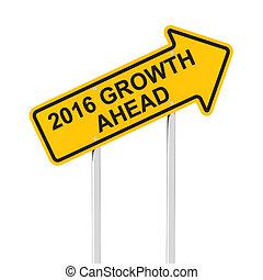 növekedés, előre, alatt, 2016