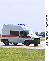 nødsituation, ambulance