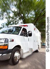 nødsituation, ambulance