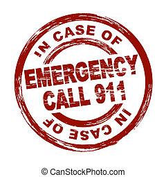 nødsituation, benævn 911