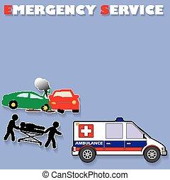 nødsituation tjeneste