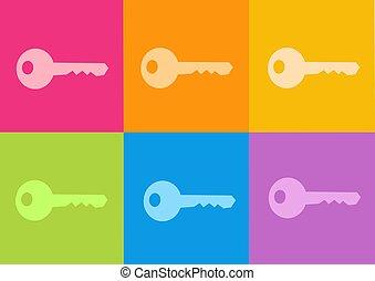 nøgle ikon