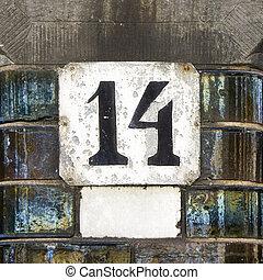 número, 14