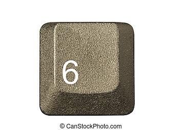 número, símbolos, tecla computador, teclado, letra