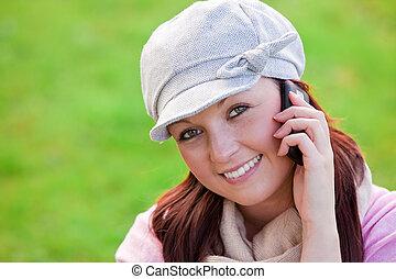 nő, felelet telefon