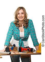 nő, konstruktőr
