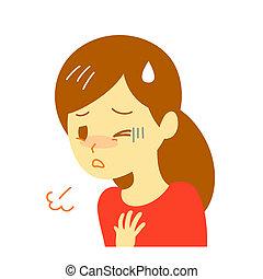 egy nő lélegzete ektoparaziták és endoparaziták