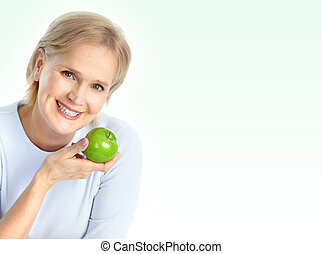 nő, noha, alma