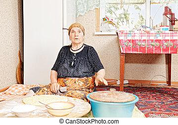 nő, sülő, bread