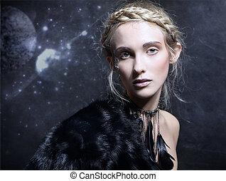 nő, varázslatos
