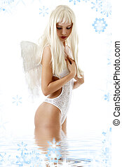 női fehérnemű, angyal
