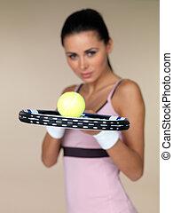 női, teniszjátékos
