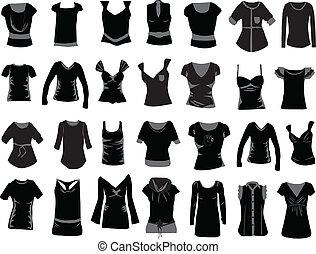 nők, öltözék