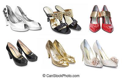 nők, cipők, gyűjtés